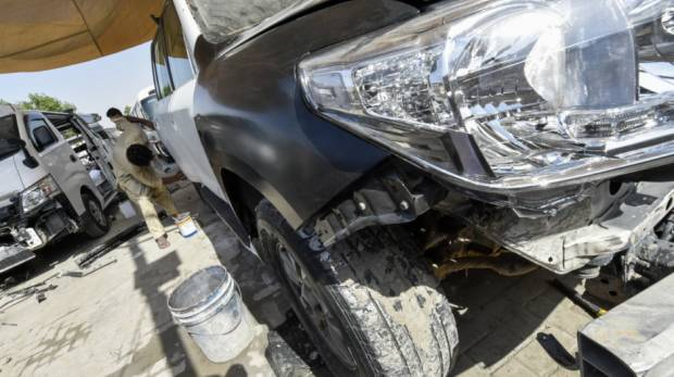Totalloss cars from US hurting Dubai market auto traders claim