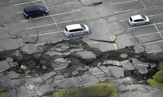 In pictures: Deadly quake jolts Japan