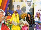 Students from Al Shifa Bint Al Harith School at the Ministry of Education stand during the Sharjah Children's Reading Festival 2016 at the Sharjah Expo Centre.