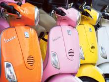 Italy says happy 70th birthday to iconic Vespa