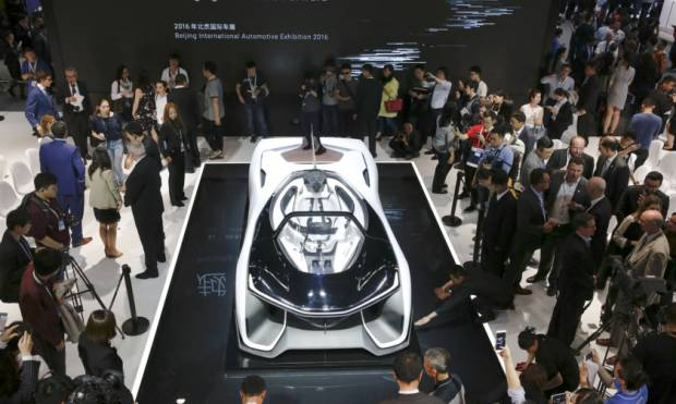 Pictures: China Auto Show highlights