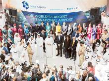 Ahmad Bin Saeed officially opens Concourse D
