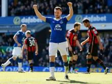 Baines stops rot for Everton