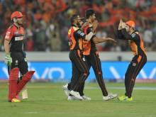 Sunrisers beat RCB by 15 runs