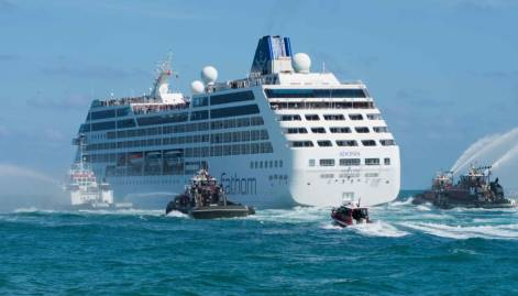 US cruise ship in historic trip to Cuba