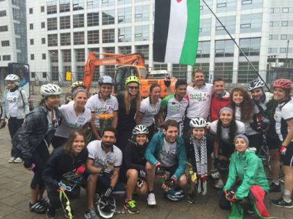 Cycling to help the people of Gaza