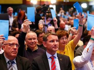 German party slammed for anti-Islam stance