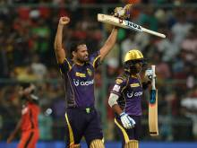 Kolkata clip Bangalore's wings, win by 5 wickets
