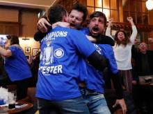 Leicester champions after Spurs draw