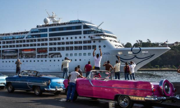 US cruise in decades docks in Havana