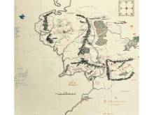 Map of Middle-earth discovered