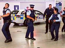 Kiwi police's 'running man' video goes viral