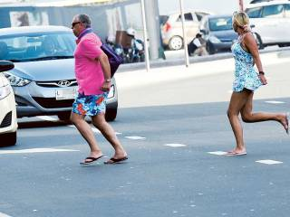 Jaywalking: Flirting with danger