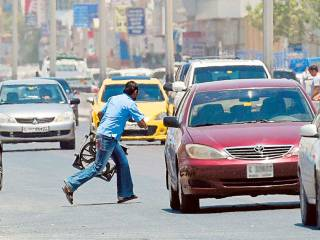 13 jaywalkers killed in four months in Dubai