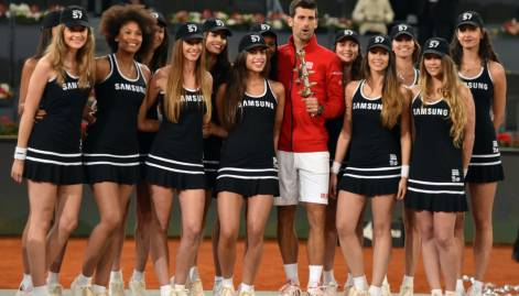 Pictures: Djokovic wins record Masters title