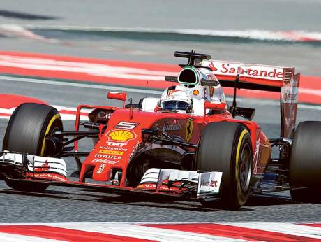 Ferrari stars lead the way in first practice | GulfNews.com