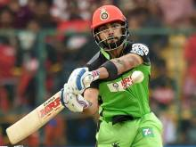 De Villiers & Kohli tame Lions, win by 144 runs
