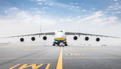 World's largest plane lands in Dubai