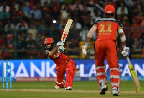RCB dethrone KXIP in a must-win game