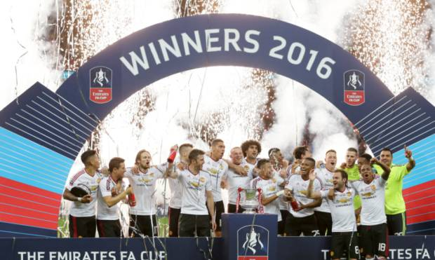 Pictures: Manchester United wins FA Cup
