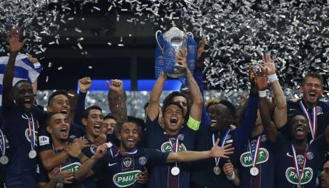 Pictures: PSG beat Marseille to win French Cup