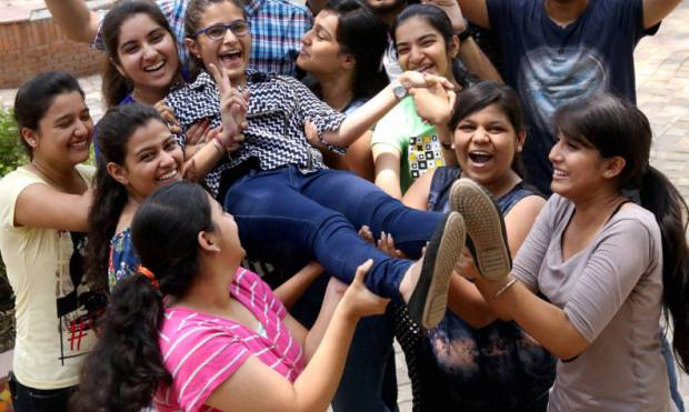 CBSE students celebrate their success