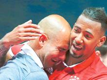 Guardiola signs off with German Cup trophy