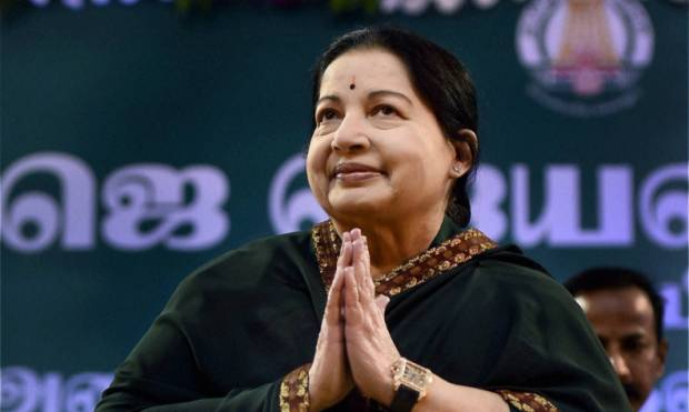 Pictures: Jaya sworn in as TN CM for sixth time