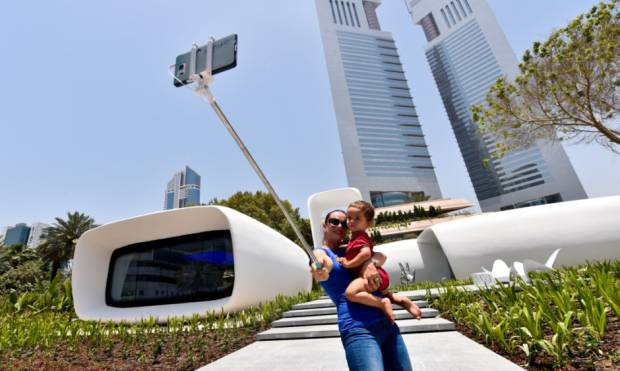 Pictures: A tour of Dubai's first 3D office