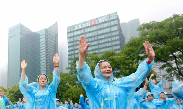 World record for mass dancing set in China