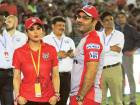 Kings XI Punjab co-owner Preity Zinta, who is talking to former India opener Virender Sehwag, has been an influence for women to follow the Indian Premier League.