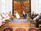 Mohammad holds talks with Egypt's Al Sissi
