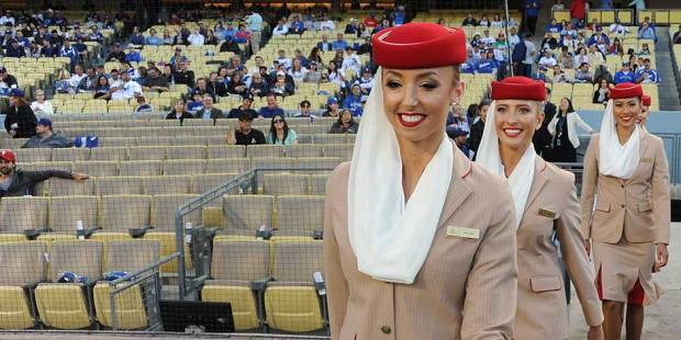 WATCH: Emirates seal the win with LA Dodgers