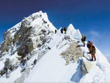 Army team returns after conquering Everest