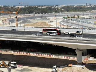 Dubai Canal flyover to open fully in July
