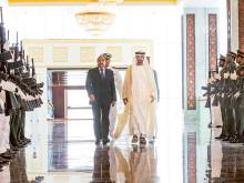 Mohammad receives Mauritanian President