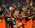 Sunrisers Hyderabad win IPL in style