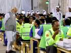 Modi in Qatar, visits labour camp