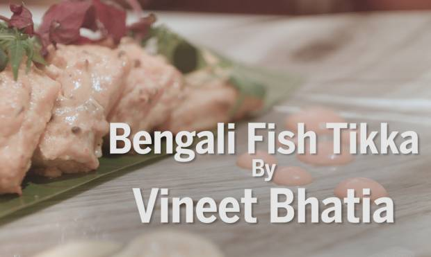 Bengali Fish Tikka by Vineet Bhatia