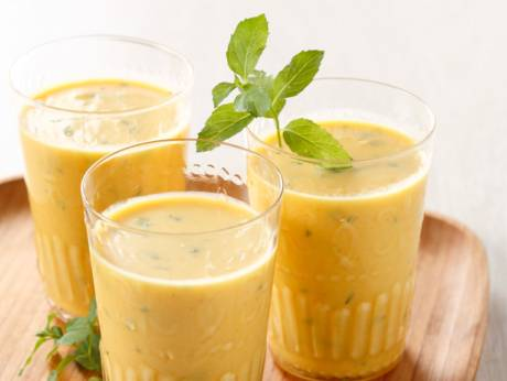 rich and sweet mango lassi mango lassi mint homemade popsicles from ...