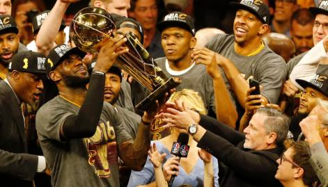 Lebron, Cavs wins Game 7 thriller