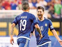 I owe the record to my teammates, Messi says
