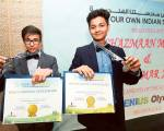 Indian boys bring international laurels to Dubai