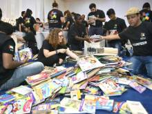 40,000 donated books given to Syrian refugees