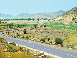 UAE-funded road in Pakistan opens
