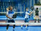 Sandy Farquharson and Javier Lopez cruised to a victory over Javier Molina and German Zunica to win padel final.