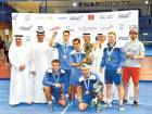 Uncle Saeed team triumph in padel