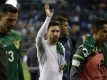 Football: Argentina begs Messi not to quit
