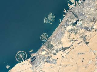Check out latest image of Dubai from space