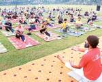 Away from limelight, a Muslim spreads yoga
